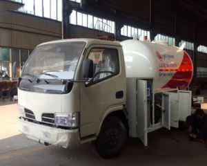 5 CBM Compressed Gas Tank Truck